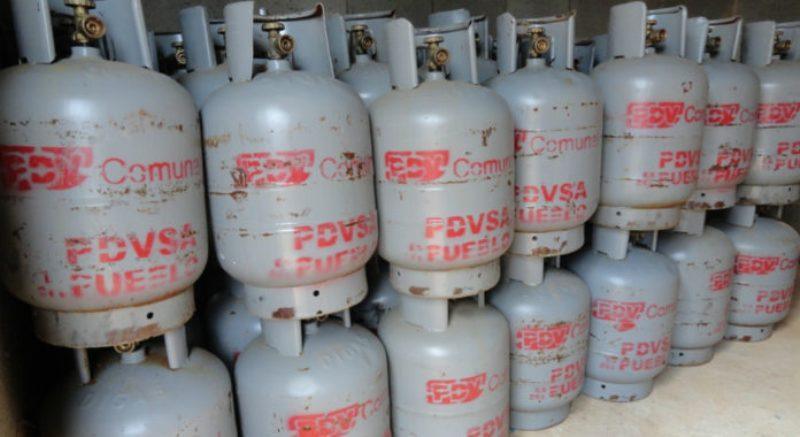 Ahora los cilindros serán vendidos a través de los CLAP. Foto referencial