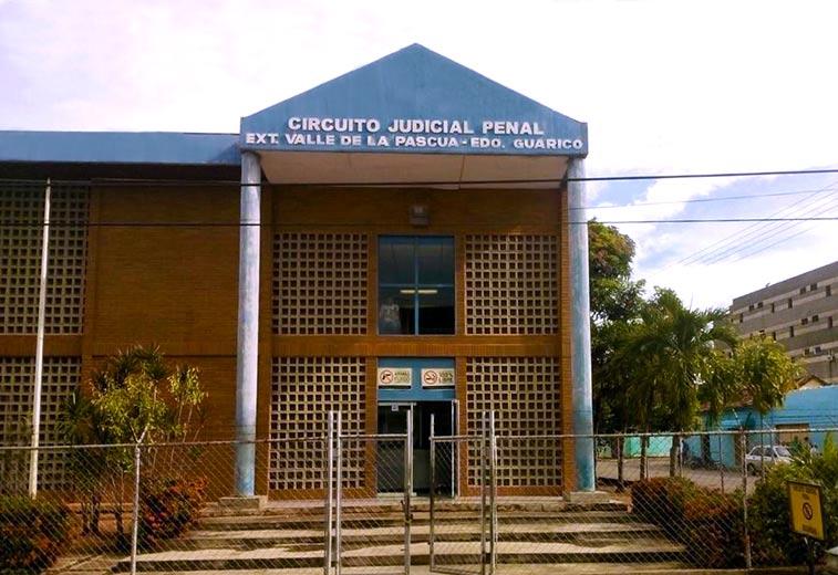La detención fue realizada en el Circuito Judicial Penal del estado Guárico. Extensión Valle de la Pascua