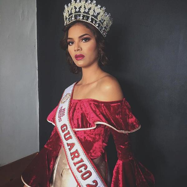 Luz María Ledezma Navarro, Miss Turismo Guárico 2018