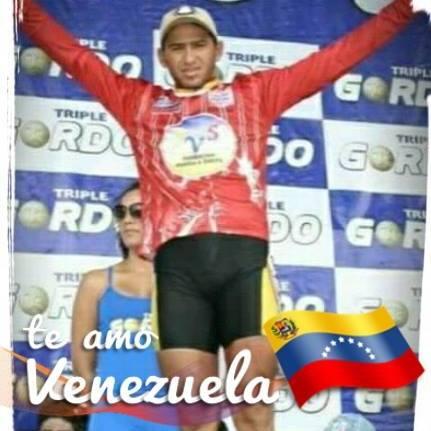 """Diego García, apodado """"Loco Loco"""" en el deporte venezolano era un excelente pedalista."""
