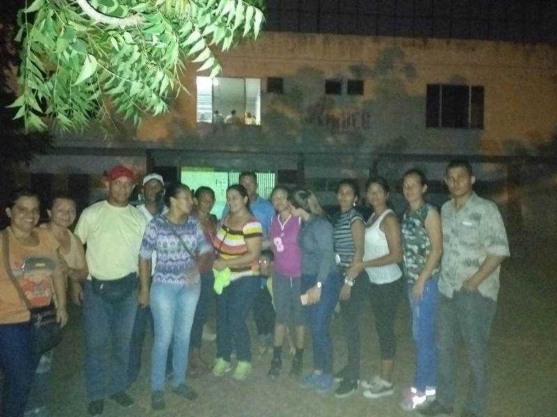 Felices los representantes de la divisa Pumas de Infante, ahora van para La Guaira en representación de Guárico.