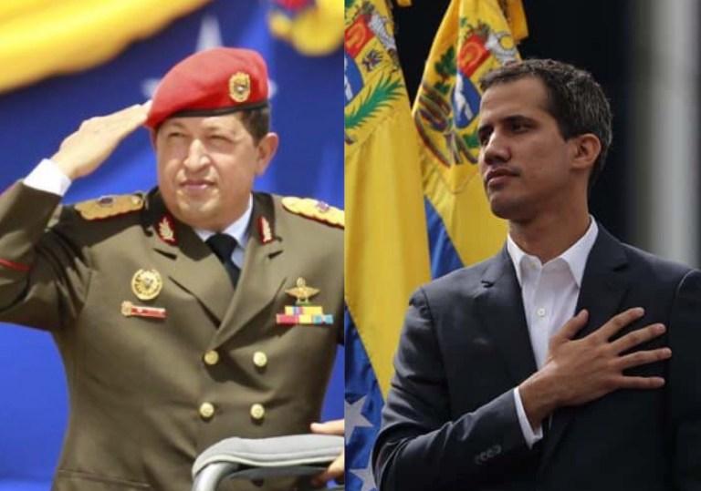 Juan Guaido y Hugo Chavez cumplen años este 28 de julio