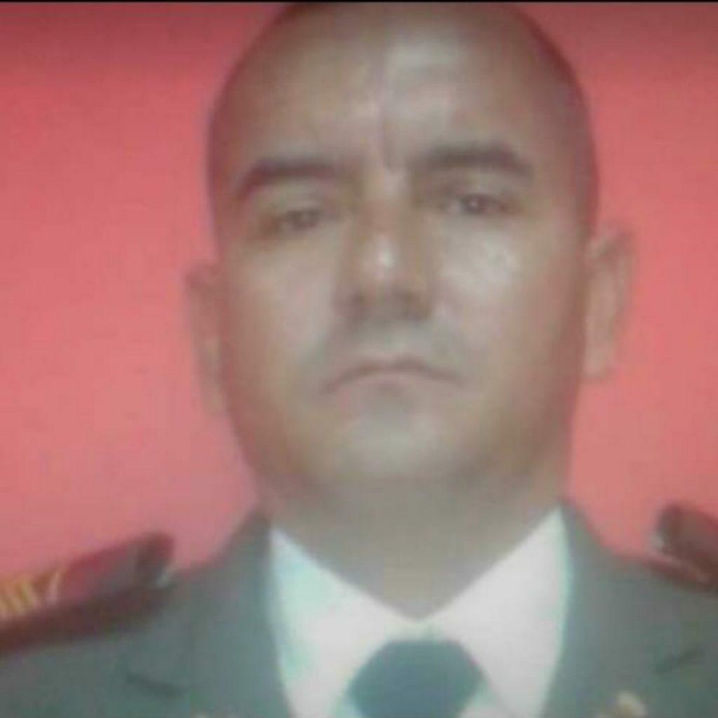 Wilmer Rafael Serrano López de 41 años. Sargento de la Guardia Nacional Bolivariana que decidió suicidarse.