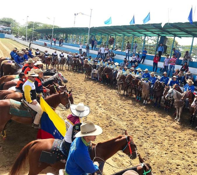 La ceremonia y desfile inaugural se desarrolló el viernes 5 de julio.cortesía Eli Saúl Segovia.