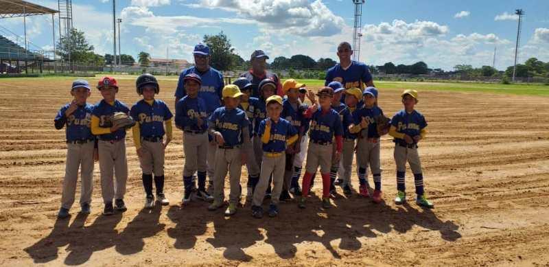 La divisa Pumas, campeón del municipio Infante ganó el Campeonato Estadal de Béisbol Preparatorio II Nivel.