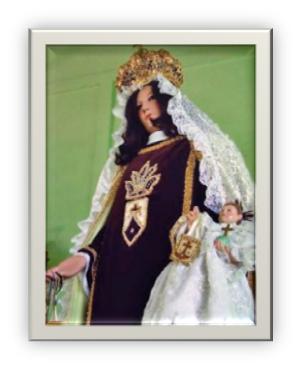 Imagen de Nuestra Señora del Carmen de Cabruta. Foto IPC 2008.