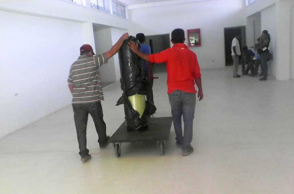 Llegó una planta de ósmosis al hospital Dr.  Rafael Zamora Arevalo de Valle de la Pascua