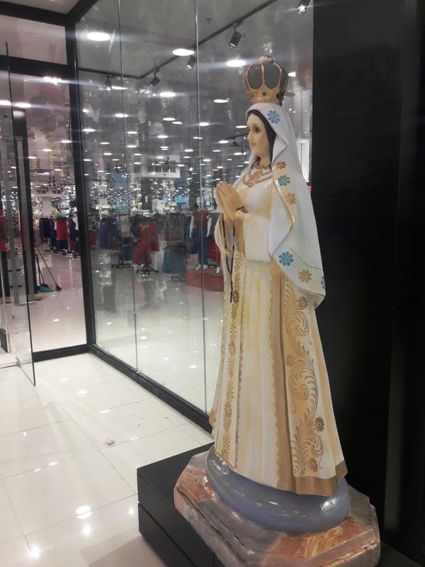 La Virgen de Fatima siempre presente en todos los Traki de Venezuela. Foto: @fj.carrillo