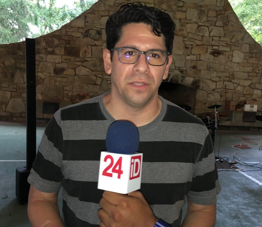 Frank Rondón, Pastor de la Iglesia Sion, indicó que la jornada superó las expectativas de los organizadores