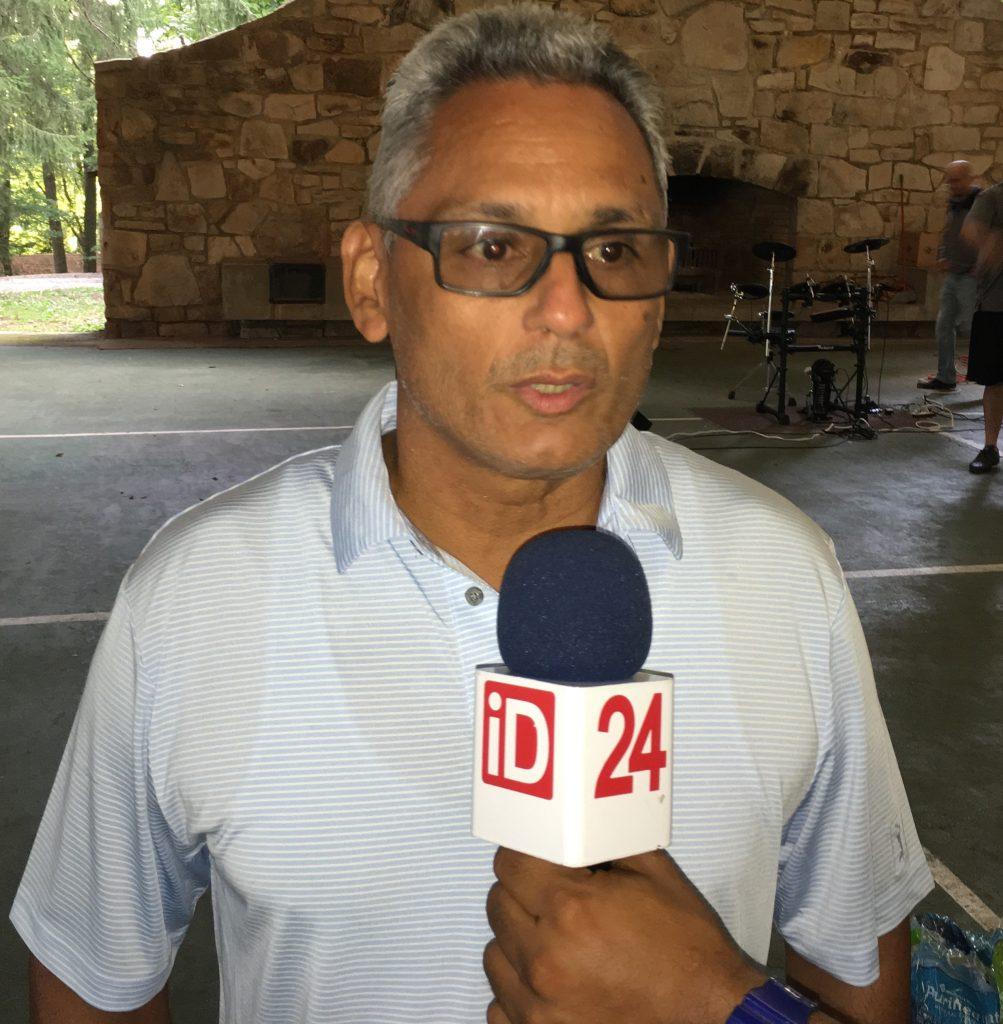 Harold Delgado, aseveró que este campamento ha sido una experiencia inolvidable