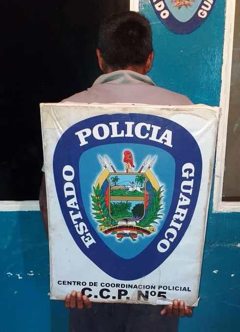 Tras las rejas por robar a una fémina. Fuente policial.