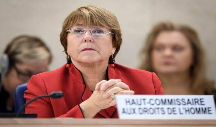 Bachetet no esta de acuerdo ya agravaran la crisis humanitaria