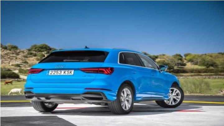 La vista trasera del Audi Q3 no tuvo cambios significativos