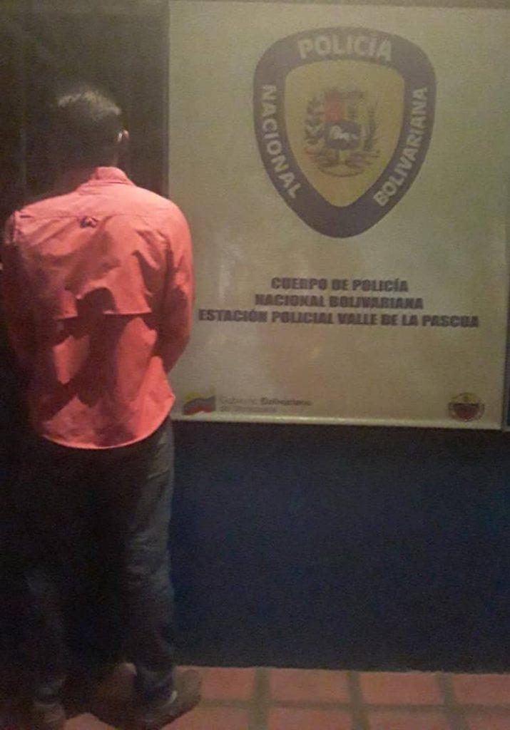 El hombre de 24 años fue capturado por la PNB