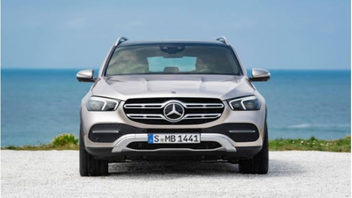 Mercedes GLE 2019 un frente imponente.