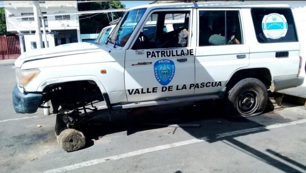 La ausencia de funcionarios es notoria en los comandos de Poliguarico | Foto: Cortesía Policial