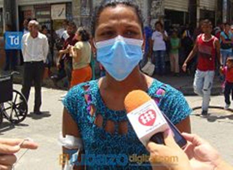 Noriana Lara también esta afectada con la situación.