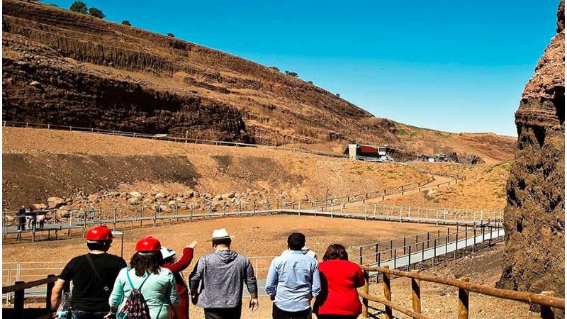 La ruta de Campo Calatrava, un volcán nada hostíl