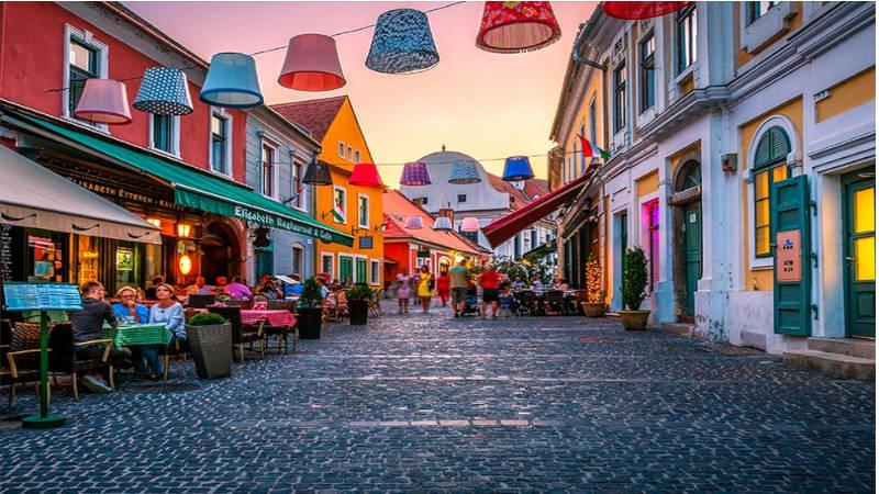 La ciudad más bohemia de Hungría,Szentendre