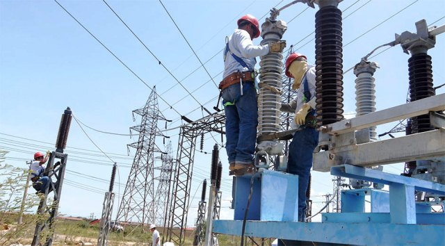 Corpoelec anuncia corte eléctrico este domingo por mantenimiento