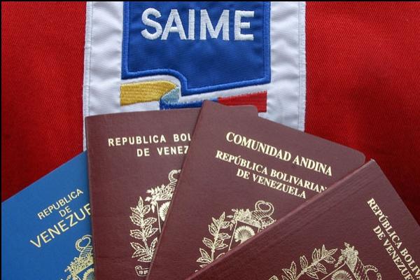 Hasta el 31 de julio, Saime suspendió trámites de pasaportes