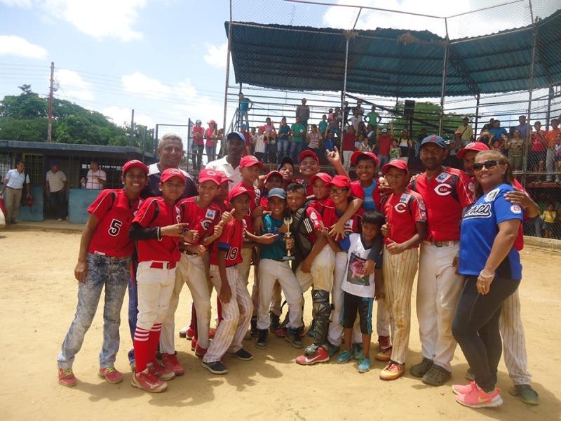 Zaraza es el campeón estadal y anfitrión del Campeonato Zonal Centro de Béisbol Infantil.