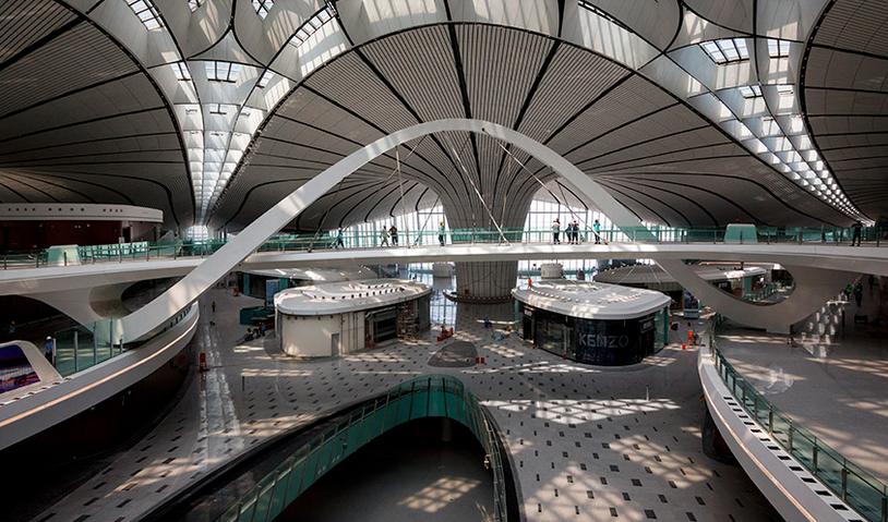 El aeropuerto mas grande del mundo