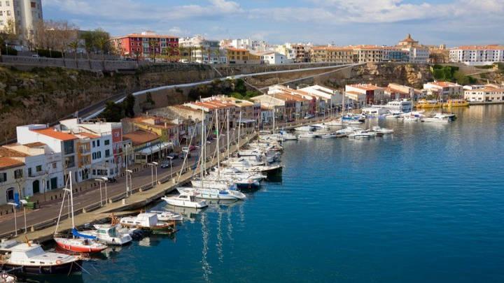 Mahón en Menorca
