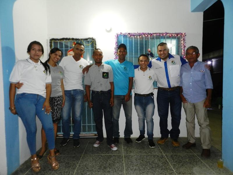 Personal de Agroguárico JCMD, en la cena navideña
