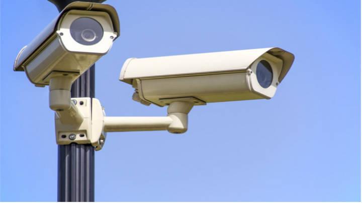 Cámaras correspondientes a un CCTV