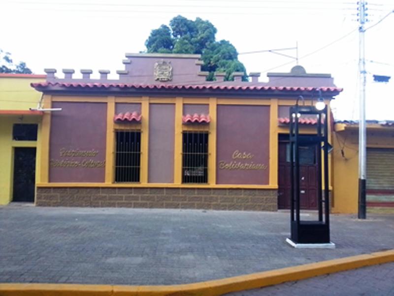 Sede de la Sociedad Bolivariana del Municipio Infante – Estado Guárico. Fotografía: José Antonio Hernández H. Noviembre 2019.