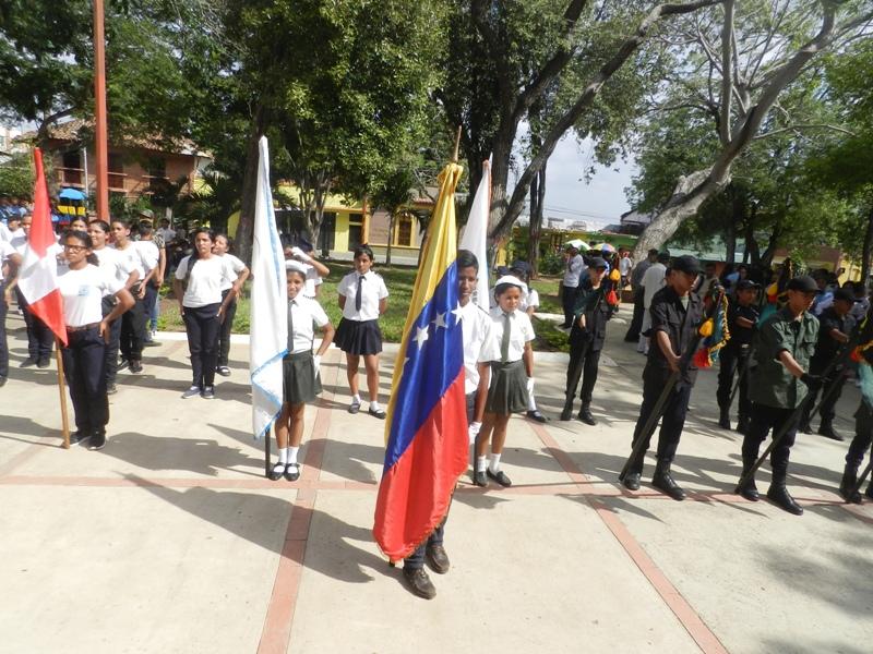 Los alumnos de los diferentes liceos de la localidad participaron en la actividad