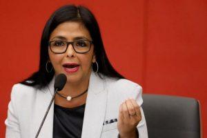 Delcy Rodriguez anunció nuevos casos de Covid-19