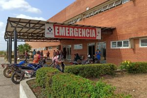 En el hospital William Lara de Zaraza se apreció personal con tapabocas.