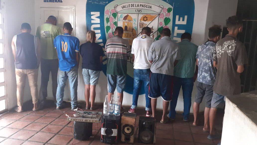 Funcionarios del Iapatmi capturaron 10 personas en la Pascua por violar la cuarentena. Foto Cortesía