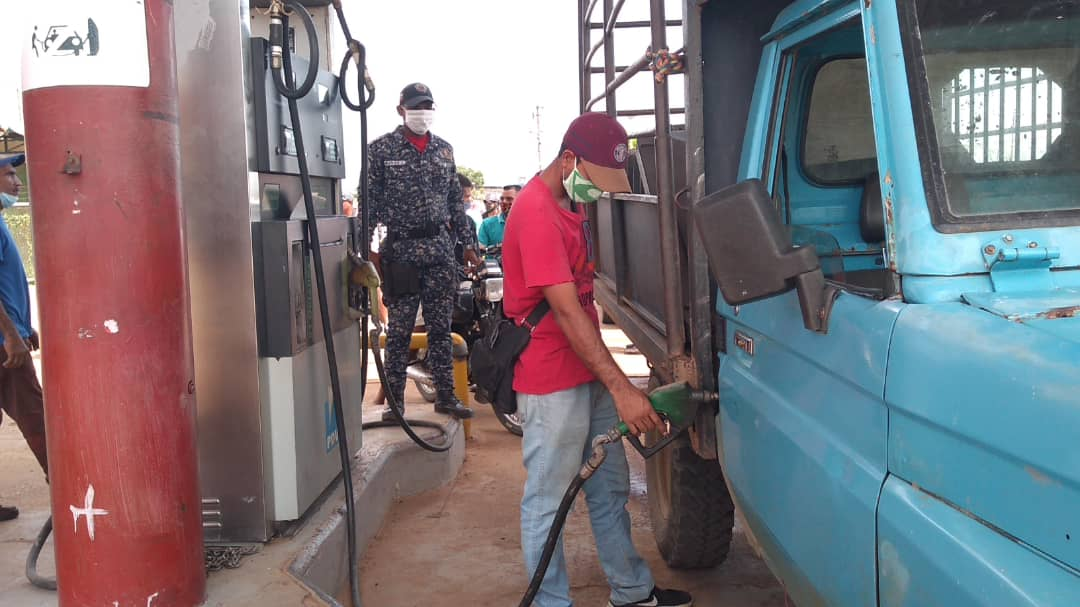 PNB activa en las estaciones de servicio de Valle de la Pascua.