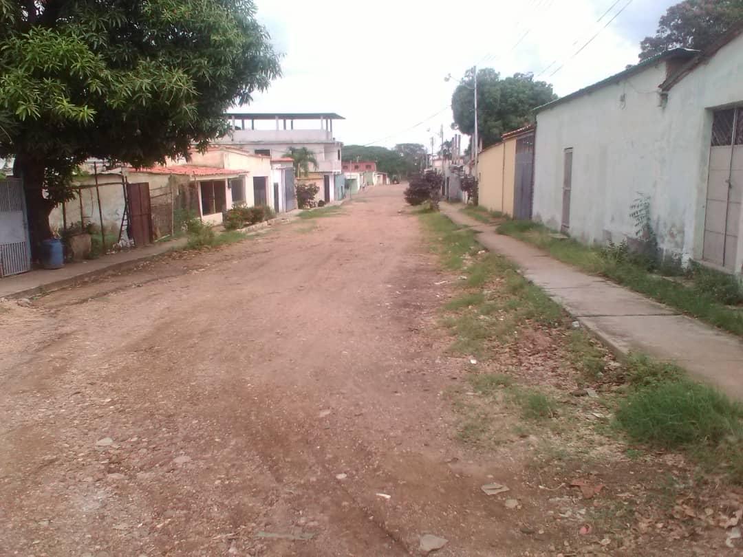 La calle 7 del sector Coca Cola en Valle de la Pascua esta intransitable