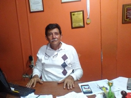 Rito Ledezma manifestó que solo en el mes de abril le surtieron de gasolina a su empresa funeraria en cinco oportunidades