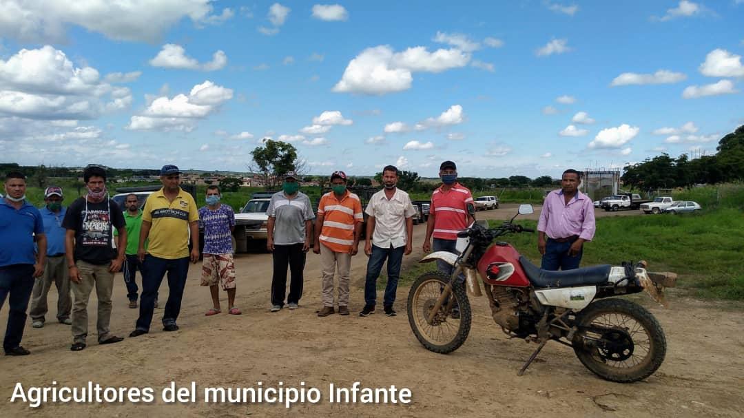 Productores del municipio Infante hacen un llamado al Gobierno Local y Regional para que los surta de Gasolina