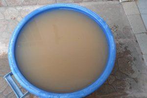 Esta es el agua que llega a las casas por tubería.