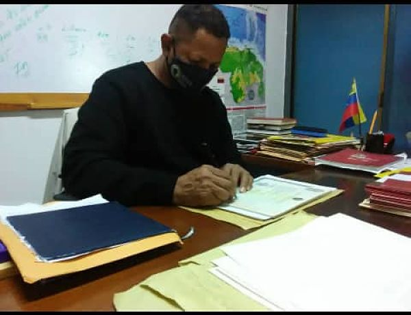 José Muñoz. Jefe de la zona educativa Guárico