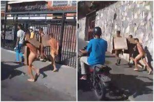 Ladrones fueron capturados robando