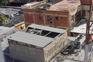 Robaron techo de la antigua sede de la CANTV