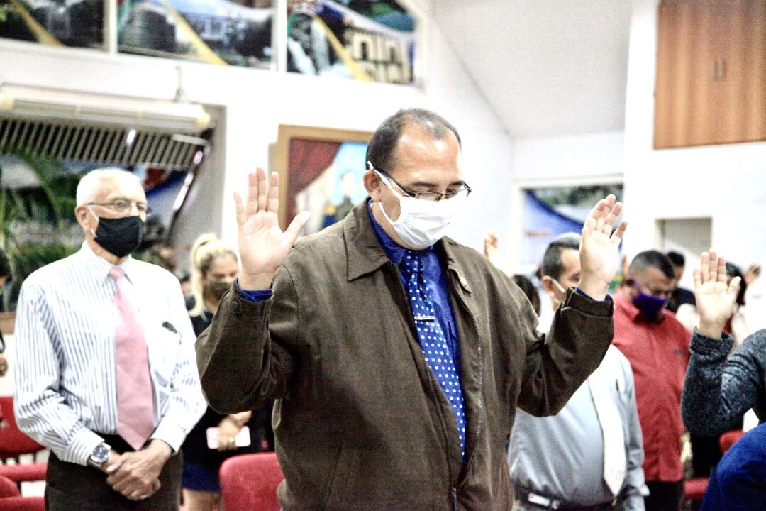 Los pastores realizaron una oración por Venezuela y por el estado Guarico