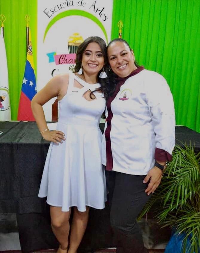 Glendy Salazar, Chef Pastelero Internacional, instructora de la Escuela Gastronómica