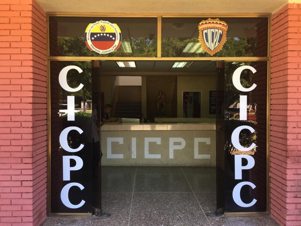 El evadido se encontraba recluido en los calabozos del CICPC GUARICO