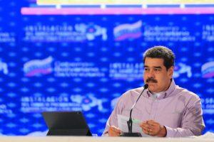 Presidente Nicolás Maduro hizo un llamado a no descuidarse en la lucha contra