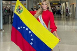Valentina Sanchez Tercer lugar en Miss Supranational 2021