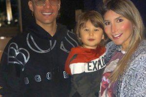 Chyno Miranda, Natasha Araos y el Pequeño Lucas
