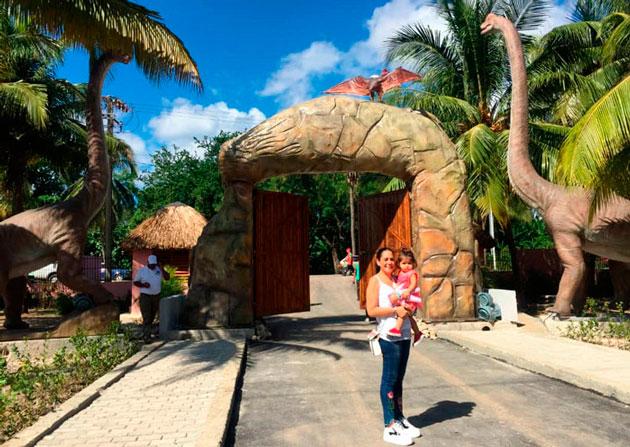 visita al parque dinosaurios